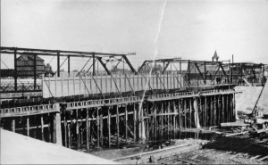 Siphon Bridge -Construction began in 1919.