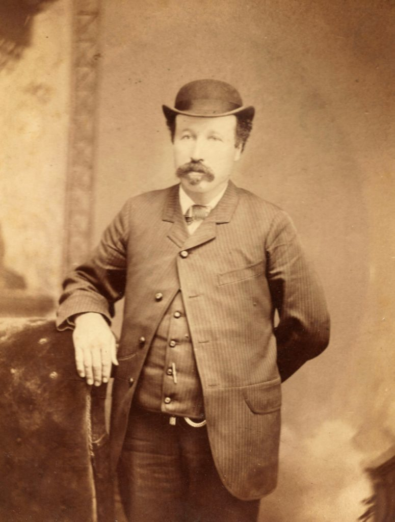 Circa 1880's image of Alexander C. Richards. Photo Courtesy Anthony Perkins