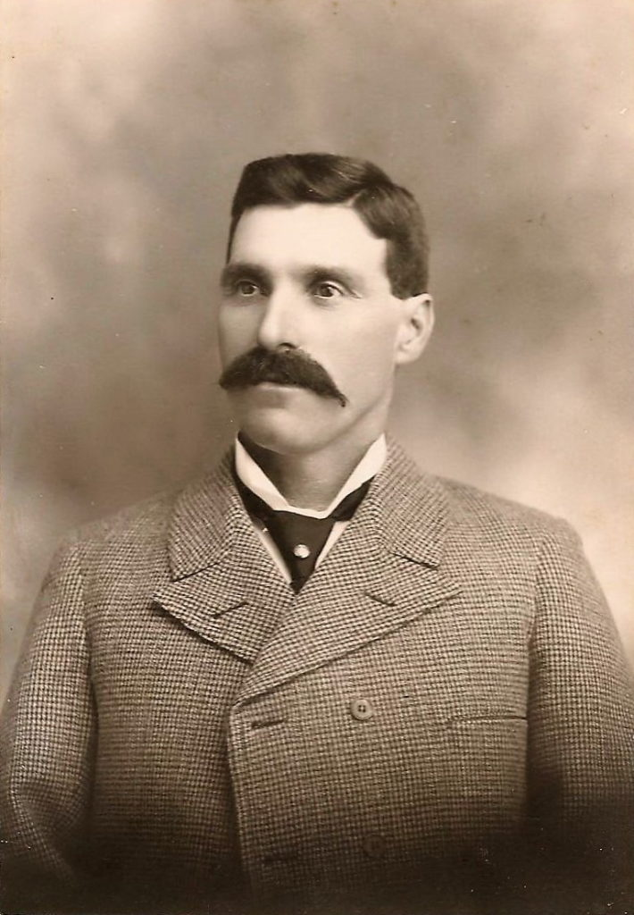 1880s image of Edwin Cookson. Photo courtesy of Anthony Perkins